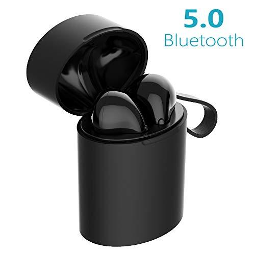 0b20c08b5c8 Auriculares Bluetooth 5.0, Auriculares Inalámbricos Bluetooth X10 Mini  Deporte Auriculares Sin Cable con Estuche de