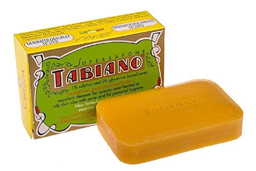 Jabón Azufre glycérine supersapone tabiano-Tratamiento