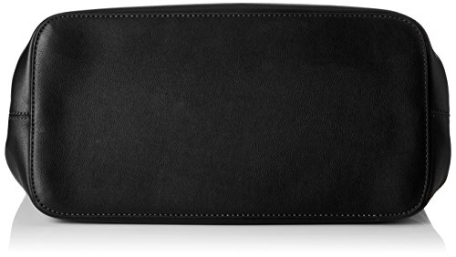Borsa A Tracolla Shopper Pcillu Donna, 18x31x44 Cm Nero (nero)