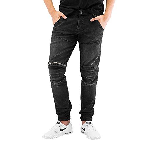 DEF Homme Jeans / Jeans Straight Fit London Gris