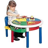 LibertyHouseToys runder Aktivitätstisch mit 4Schubladen preisvergleich bei kinderzimmerdekopreise.eu