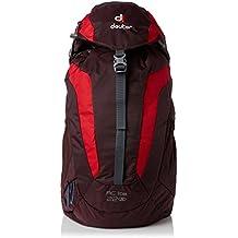 Deuter AC Lite - Mochila acolchada mujer, con cinturón, talla única,22 l, color granate y rojo