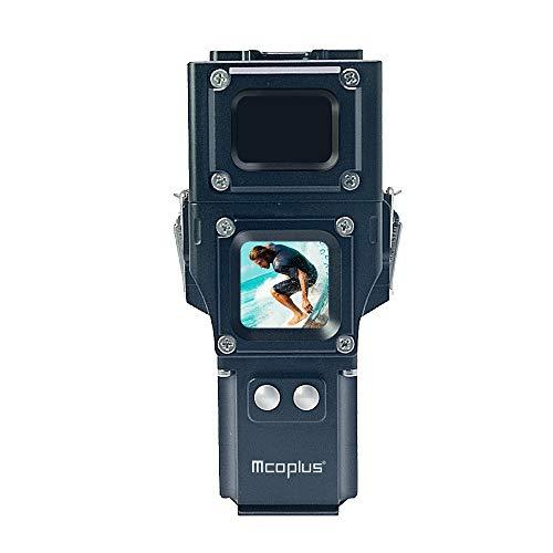 Für DJI Osmo Pocket Sportkamera wasserdichte Gehäuse Gehäuse Fall Diving 100m Dichtung Tauchen Schutzhülle Actionkameras Erweiterungs Zubehör,JShisxnuid (Schwarz) Pocket-pc-leder