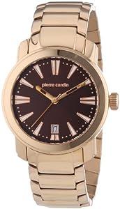 Reloj de caballero Pierre Cardin PC101701F03 de cuarzo, correa de acero inoxidable color oro de Pierre Cardin