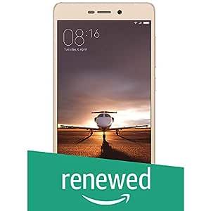 (Renewed) Mi Redmi 3S Prime (Gold, 32GB)