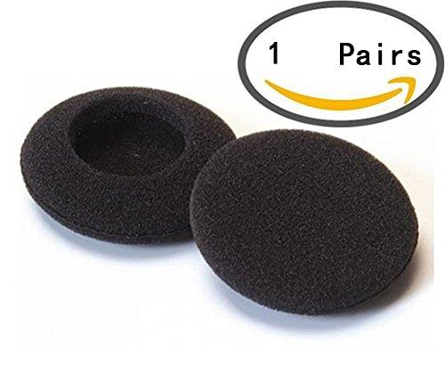 Hosaire 1 Pares Fundas Auriculares Esponja Color Negro