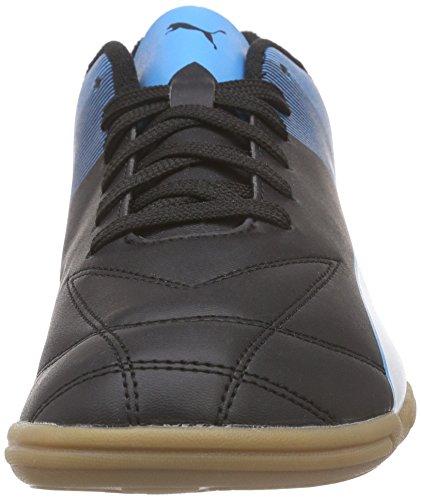 Puma Adreno Ii It Herren Hallenschuhe Schwarz (black-white-atomic blue 03)