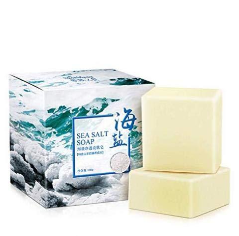 COFCO Meersalz zusätzlich zu Saponin, Ölkontrolle Schwefel waschen Ziegenmilchseife, Reinigungsöl Seife handgemachte Seife -