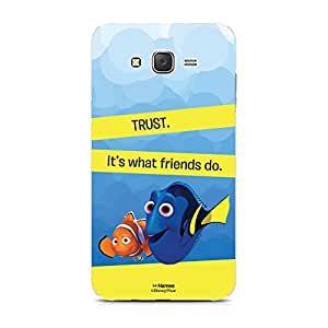 Hamee Disney Pixar Finding Dory Official Licensed Designer Cover Hard Back Case for Xiaomi Redmi 2 / 2s (Dory Marlin / Trust)