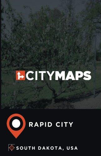City Maps Rapid City South Dakota, USA