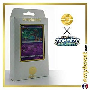 Deoxys 68/168 Holo Reverse - #myboost X Soleil & Lune 7 Tempête Céleste - Box de 10 Cartas Pokémon Francés