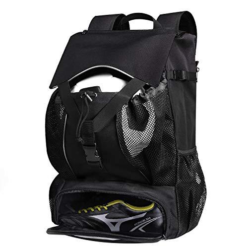 Estarer Sportrucksack Schulrucksack Wasserabweisend Outdoor Rucksack 30L mit Schuhfach Ballnetz Laptopfach für Schule Uni Reise Sport Wandern - Kinder-volleyball-schuhe