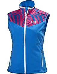Helly Hansen W Speed - Chaleco para mujer, color azul, talla XL