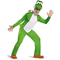 Deluxe Adult Yoshi Fancy dress costume