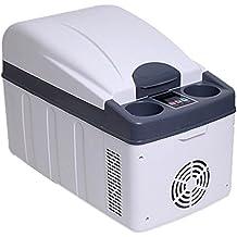 MENUDOWN Refrigerador del Coche, Refrigerador del Coche 20L Compresor Portátil Nevera Congelador Coche Y El