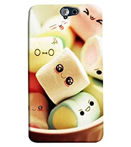 Omnam Sugar Gum Printed Back Cover Case For HTC One A9