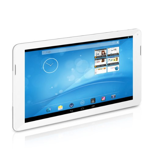 TrekStor SurfTab xintron i 10.1 Fan Edition (10.1 Zoll Android-Tablet mit Intel Atom Z2580 Prozessor, 2 GHz, 16 GB, 1 GB RAM) weiß