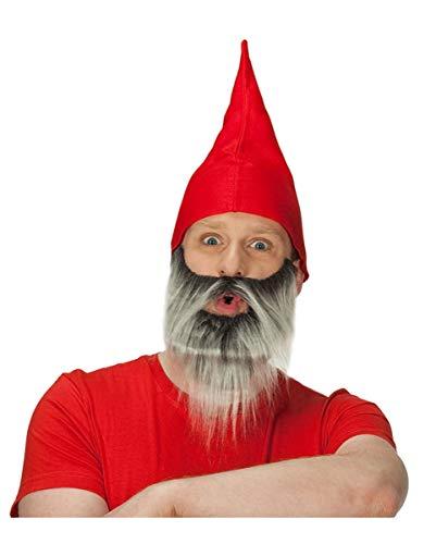 Zwergenmütze Rot ()