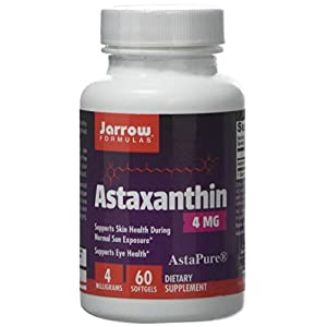 41hQENZzm8L. SS300  - Jarrow Formulas Astaxanthin, 4mg - 60 Softgels, 60 Capsules