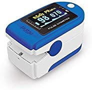 Glammore Fingertip Pulse Oximeter for SpO2 and Pulserate Monitoring with Digital Display