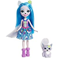 Enchantimals Doll and Small Animal Friend Figure, 6 Inch Doll