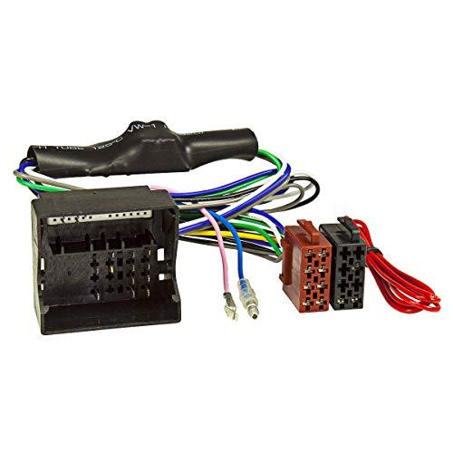 tomzz Audio 7003-007 Aktivsystem Radio Adapter passend für Audi A3 A4 TT ab 2004 Quadlock auf ISO 16-Pin Bose