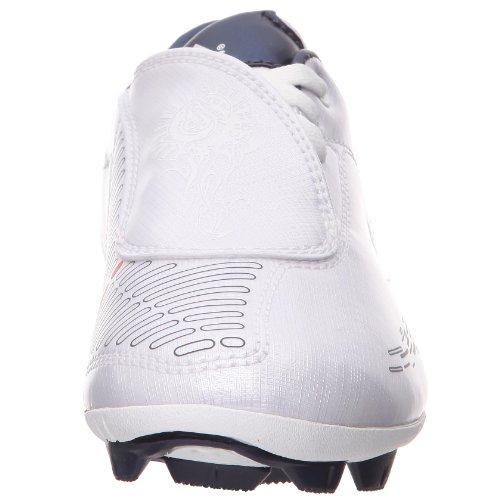 Adidas F10 I TRX HG Jr scarpa base ball (weiß - blau - gold)