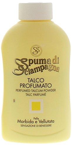 Spuma di Sciampagna - Talco Profumato, Sensazione di Benessere, 200 g