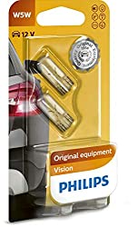 Philips 12961B2 Glassockellampe Vision W5W