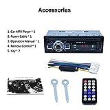 Auto MP3 Player, RK 522 Auto DVD SD Kartenleser USB Auto MP3 Player mit Bluetooth Panel FM Tuner Aux In Fernbedienung