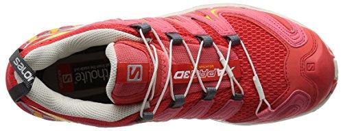 Salomon XA Pro 3d, Chaussures de trail running pour femme Rouge