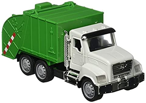 Recycling Truck. Micro Series. Light and sounds. Because the crew depends on you. Driven by BATTAT. by DRIVEN by Battat