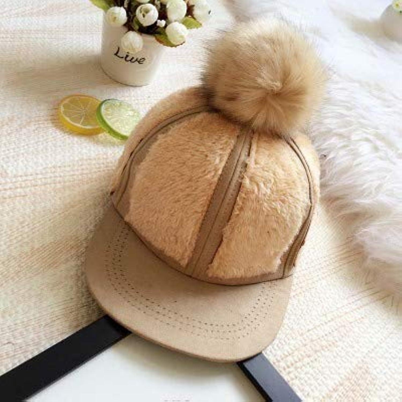 Dvfgsxxht - Cappelli Invernali per Bambini per in Pelle Scamosciata Calda  per Bambini Bambini e Bambine 7cbdd27b147c