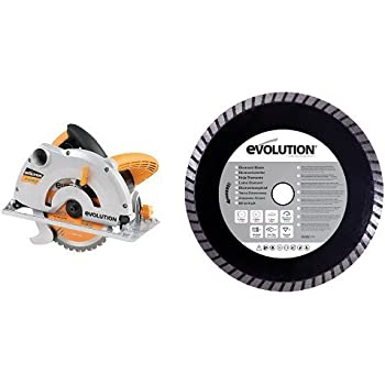 Evolution diamond blade 185 mm amazon diy tools evolution power tools build multi purpose circular saw and diamond blade 185 mm 230 v keyboard keysfo Image collections