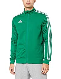 004916284979 adidas Tiro19 Training Jacket, Track Tops Uomo, Bold Collegiate  Green/White, XL