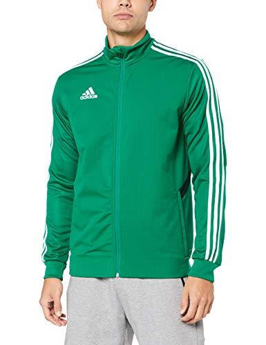 adidas Herren TIRO19 TR JKT Sport Jacket, Bold Collegiate Green/White, XL