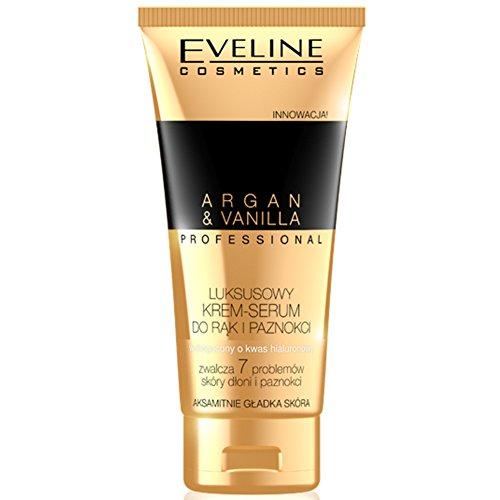 Eveline Professional Luxury Hands & Nails Cream-Serum Argan & Vanilla 100ml by Eveline Cosmetics