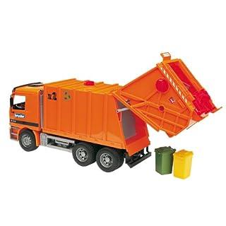 Bruder 02660 - MB Actros Müll-LKW, orange
