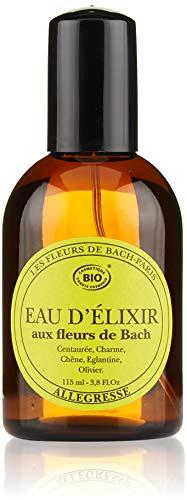 Elixirs & Co Eau d'Elixir Allégresse Eau de toilette Energisante aux Fleurs de Bach BIO 115 ml