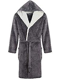 Amazon.co.uk  Grey - Dressing Gowns   Kimonos   Nightwear  Clothing 1286391d3