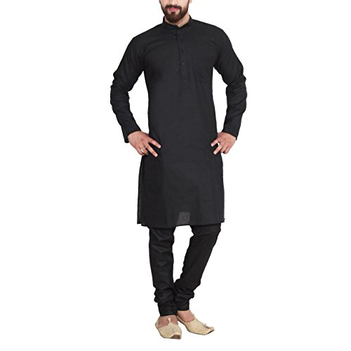 Sojanya-Since-1958-Mens-Cotton-Linen-blend-Kurta-Pyjama