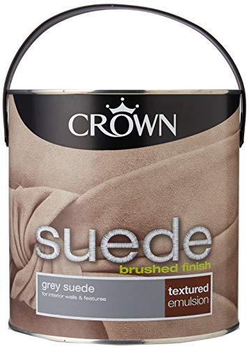Crown 5093179 Innenfarbe, Wildleder, 2,5 l, Grau