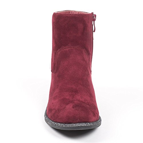 Ideal Shoes, Damen Stiefel & Stiefeletten Rot