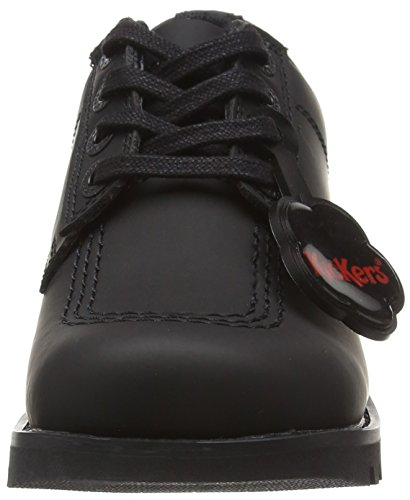 Kickers Kick Lo C - Junior - Derbies - Garçon Noir (Black)