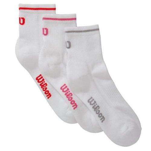 wilson-womens-white-quarter-socks-pack-of-3-uk-4-8