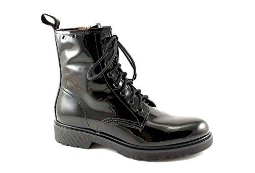 BLACK GARDENS 13474 amphibische Frau schwarzer Farbe zip Nero