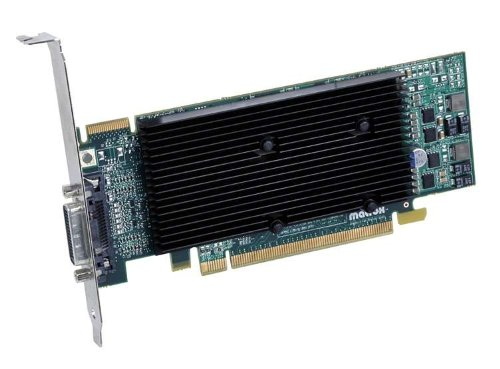 Matrox M9120-E512LPUF GDDR2 graphics card - Graphics Cards (GDDR2, 128 bit, 2048 x 1536 pixels, PCI Express x16)