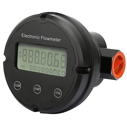 G1 '' Gear Fuel Flow Meter Chemikalientransfer Meter LED-Bildschirm für Heizöl Derv Kerosin 12~120L / min 3.4MPa weit verbreitet in den Bereichen Erdöl, Transport Food und so weiter -