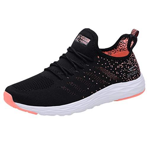 Supertong Schuhe Damen Turnschuhe Bequeme Laufschuhe für Frauen Herren Leichte Atmungsaktive Mesh Sneakers Sportschuhe Casual Outdoor Sport Fitness Walkingschuhe