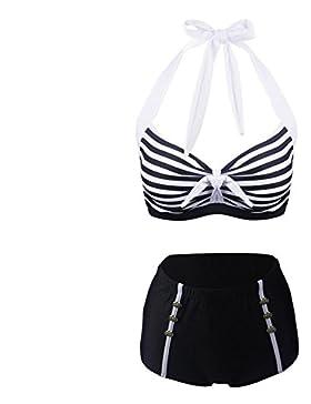 7e66f2a5ccca ... bagno costume da… EUR 28,24. A Vita Alta 2 Pezzo Delle Donne Plus Size  Mesh Bikini Swimsuit , blatic , 50